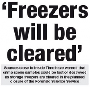 Freezers Will Be Cleared
