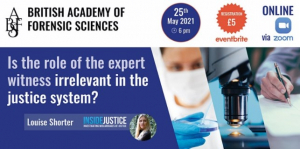 Event: Is the role of the expert witness irrelevant in the justice system?